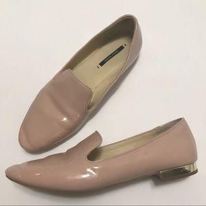 Zara Blush Pink Loafers